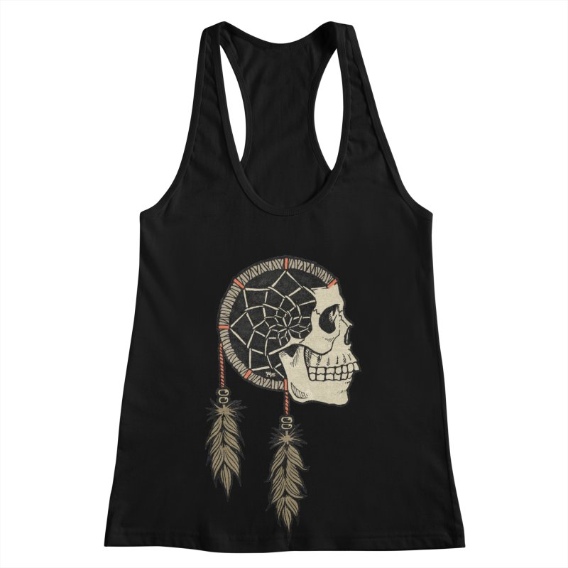 Nightmare Catcher Women's Racerback Tank by Tripledead Shop
