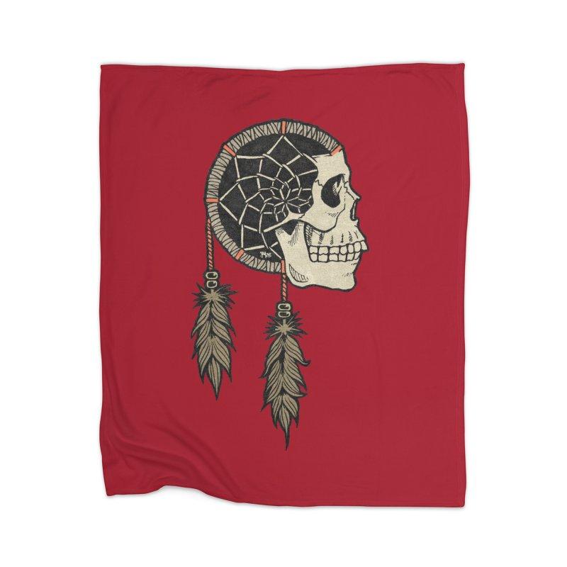Nightmare Catcher Home Blanket by Tripledead Shop
