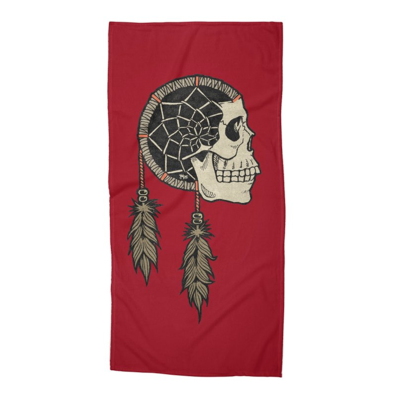 Nightmare Catcher Accessories Beach Towel by Tripledead Shop
