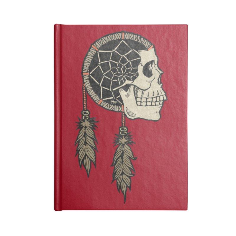 Nightmare Catcher Accessories Lined Journal Notebook by Tripledead Shop
