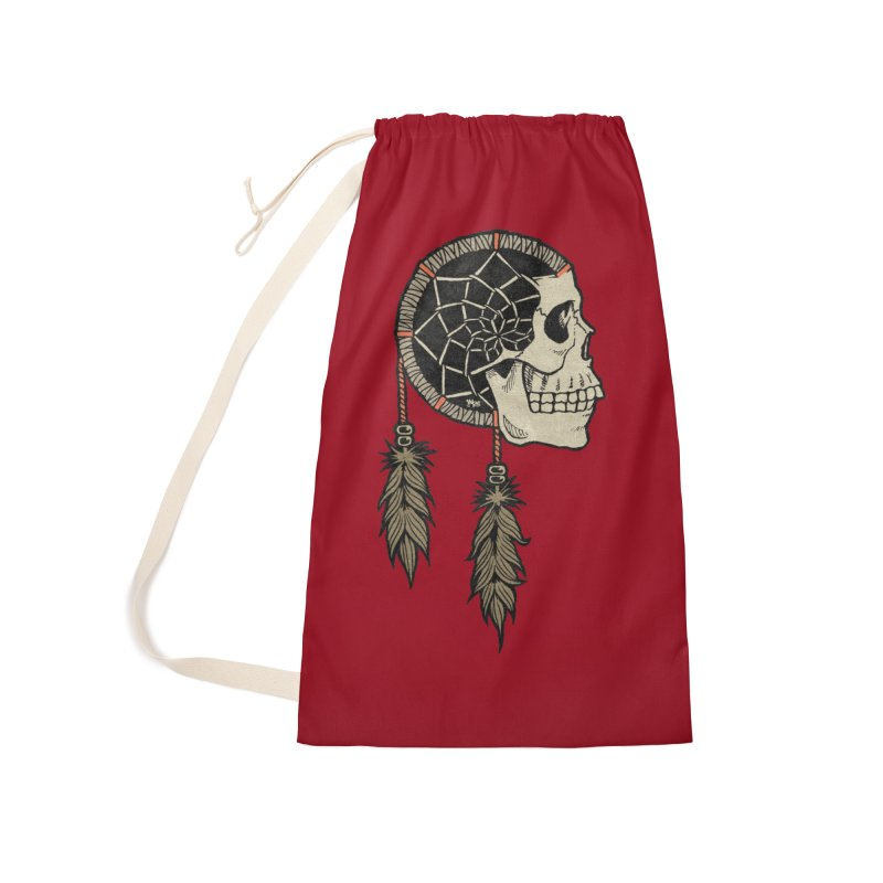 Nightmare Catcher Accessories Laundry Bag Bag by Tripledead Shop
