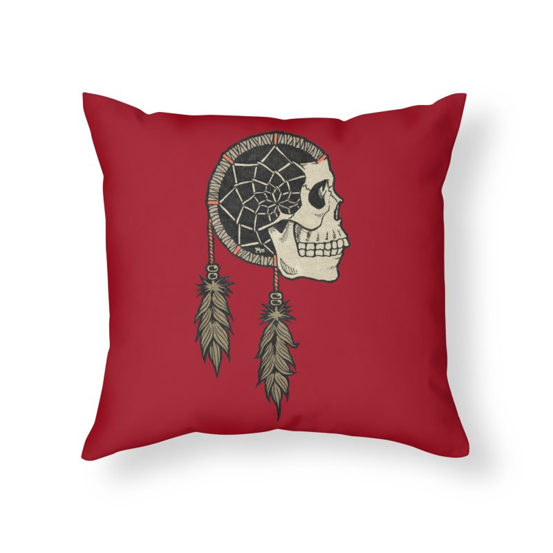 Nightmare Catcher Home Throw Pillow by Tripledead Shop