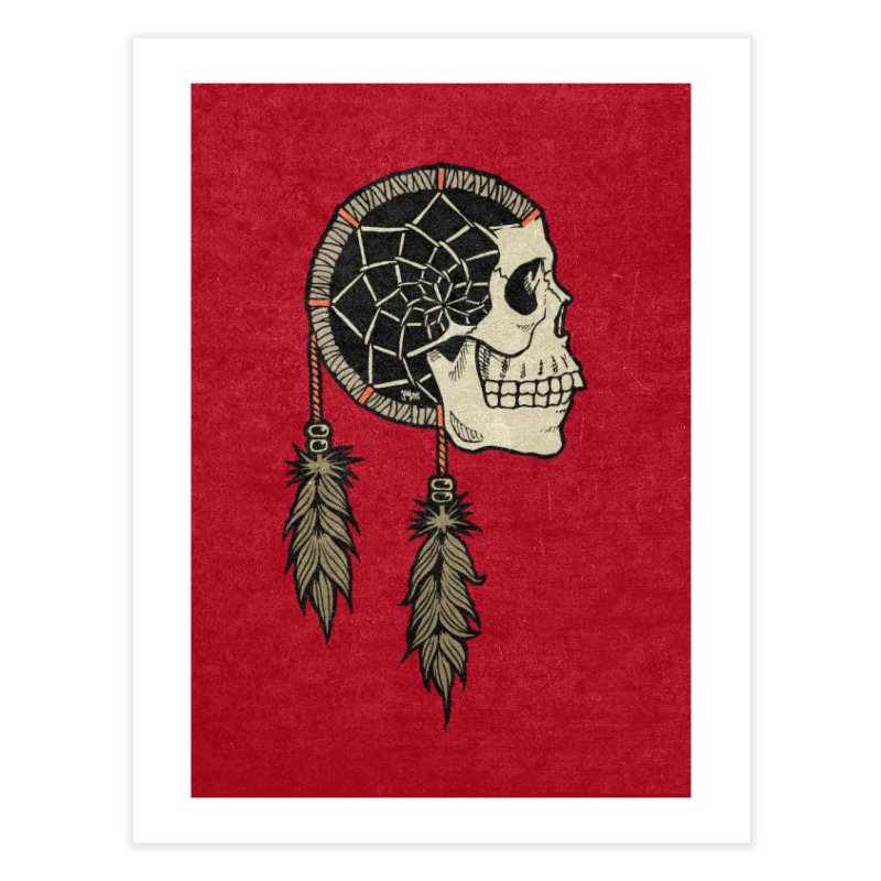 Nightmare Catcher Home Fine Art Print by Tripledead Shop