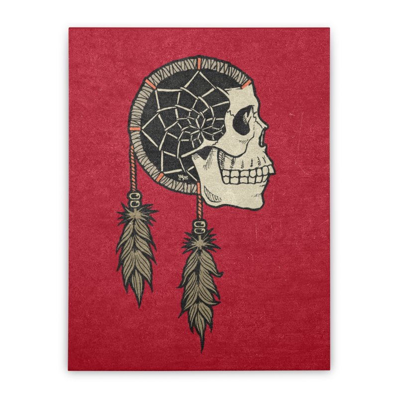 Nightmare Catcher Home Stretched Canvas by Tripledead Shop