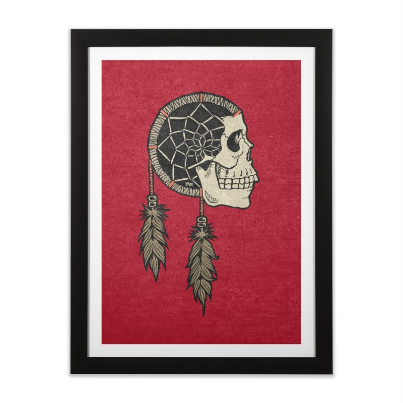 Nightmare Catcher Home Framed Fine Art Print by Tripledead Shop