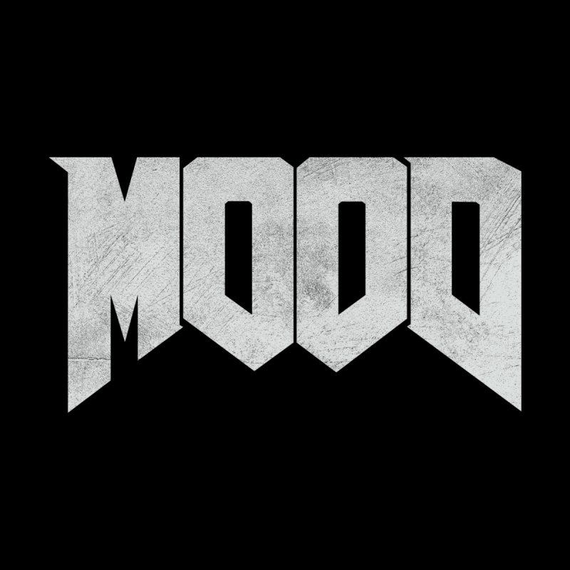 MOOD Women's Sweatshirt by Tripledead Shop