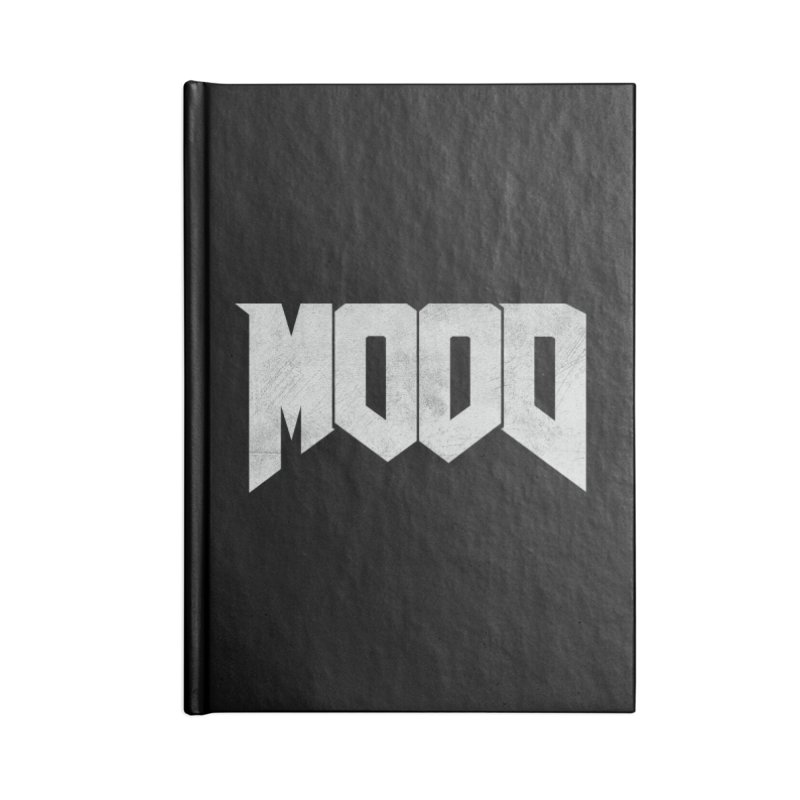 MOOD Accessories Blank Journal Notebook by Tripledead Shop
