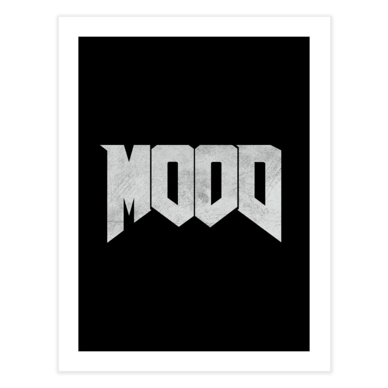 MOOD Home Fine Art Print by Tripledead Shop