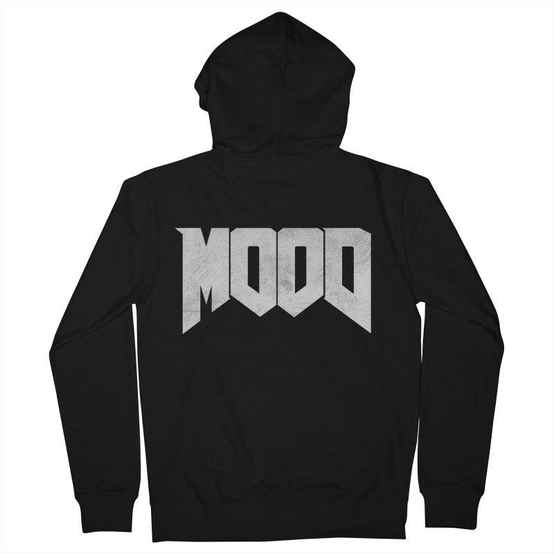 MOOD Men's Zip-Up Hoody by Tripledead Shop