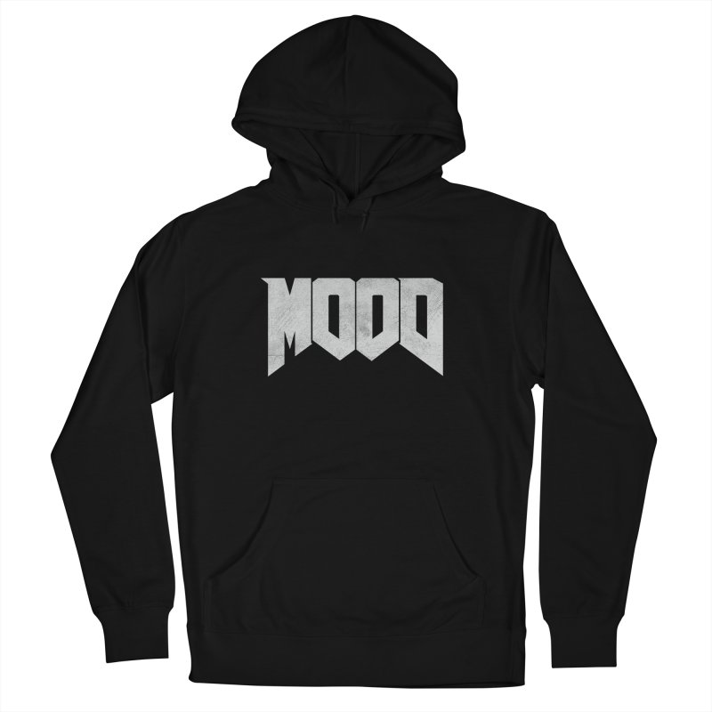 MOOD Men's French Terry Pullover Hoody by Tripledead Shop