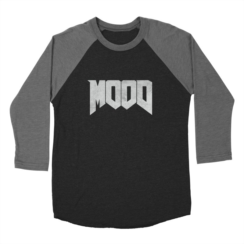 MOOD Men's Baseball Triblend Longsleeve T-Shirt by Tripledead Shop