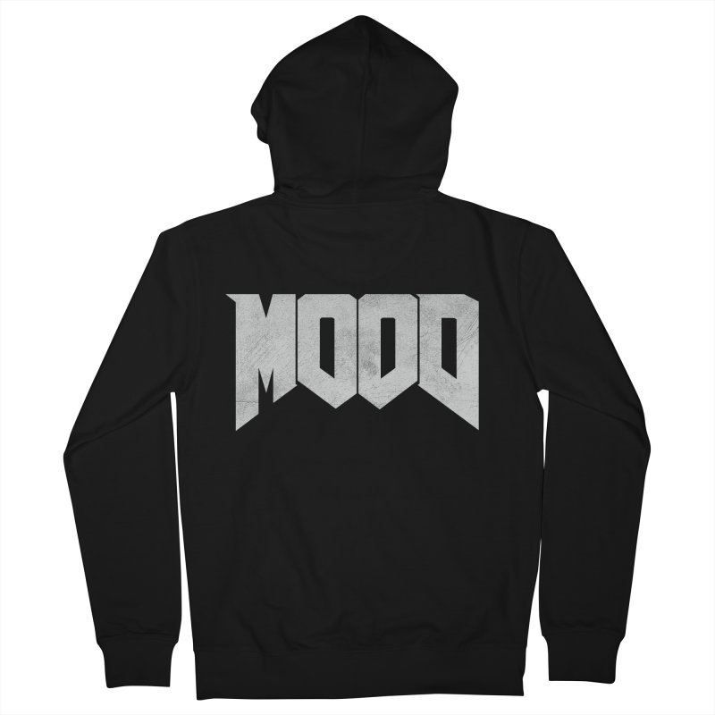 MOOD Men's French Terry Zip-Up Hoody by Tripledead Shop