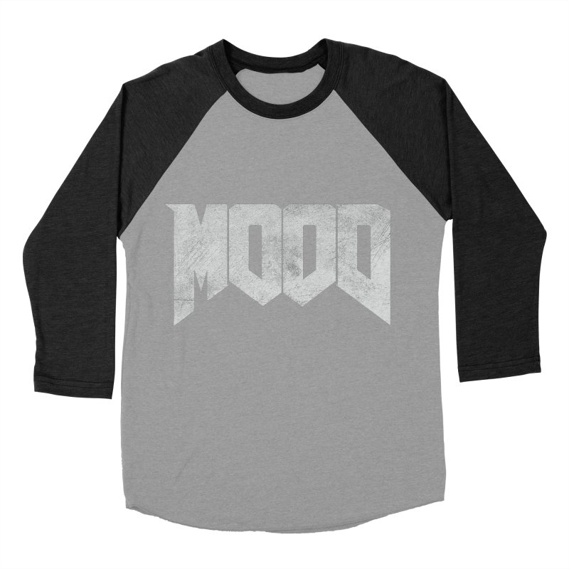 MOOD Women's Baseball Triblend Longsleeve T-Shirt by Tripledead Shop