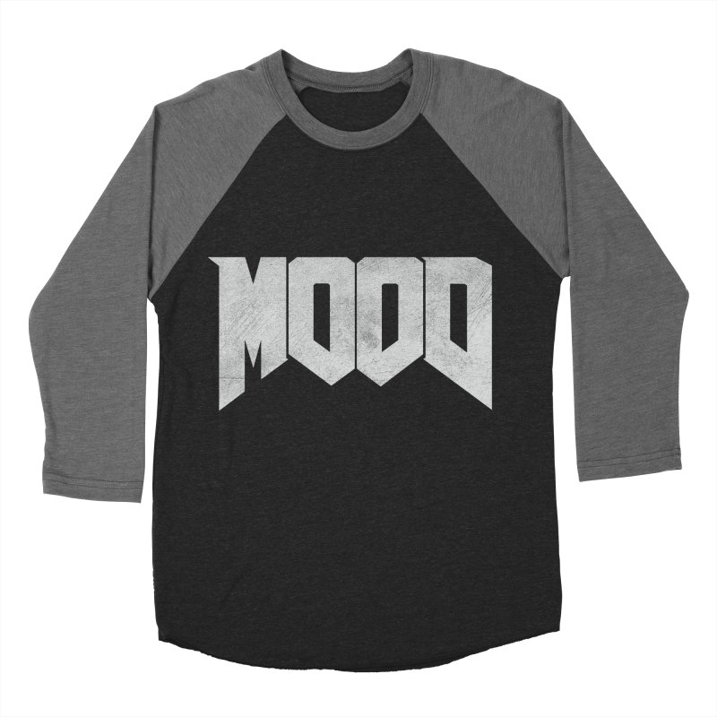MOOD Men's Baseball Triblend Longsleeve T-Shirt by Tripledead Shop