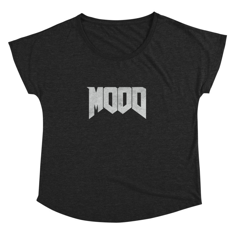 MOOD Women's Dolman Scoop Neck by Tripledead Shop