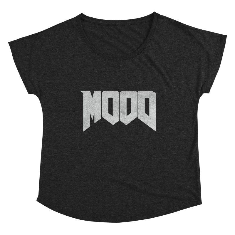 MOOD Women's Scoop Neck by Tripledead Shop