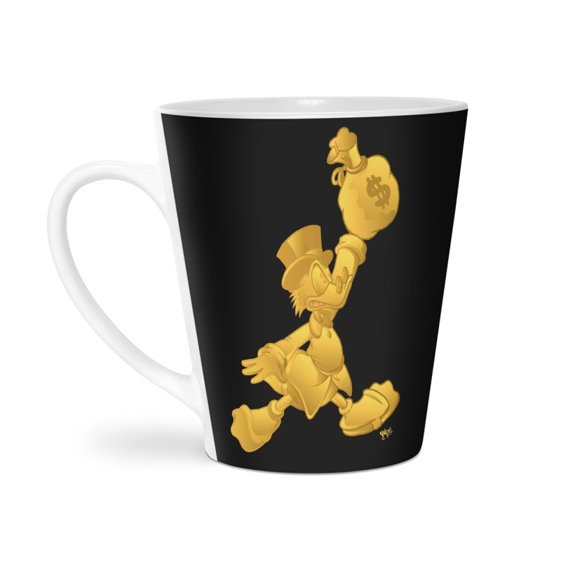 Air McDuck Accessories Latte Mug by Tripledead Shop