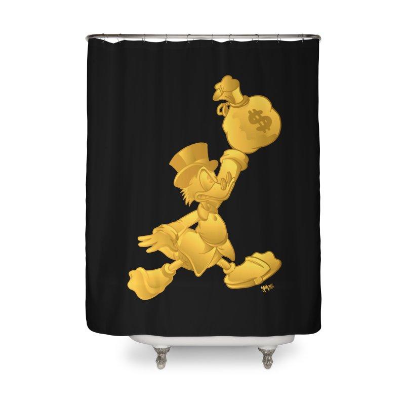 Air McDuck Home Shower Curtain by Tripledead Shop