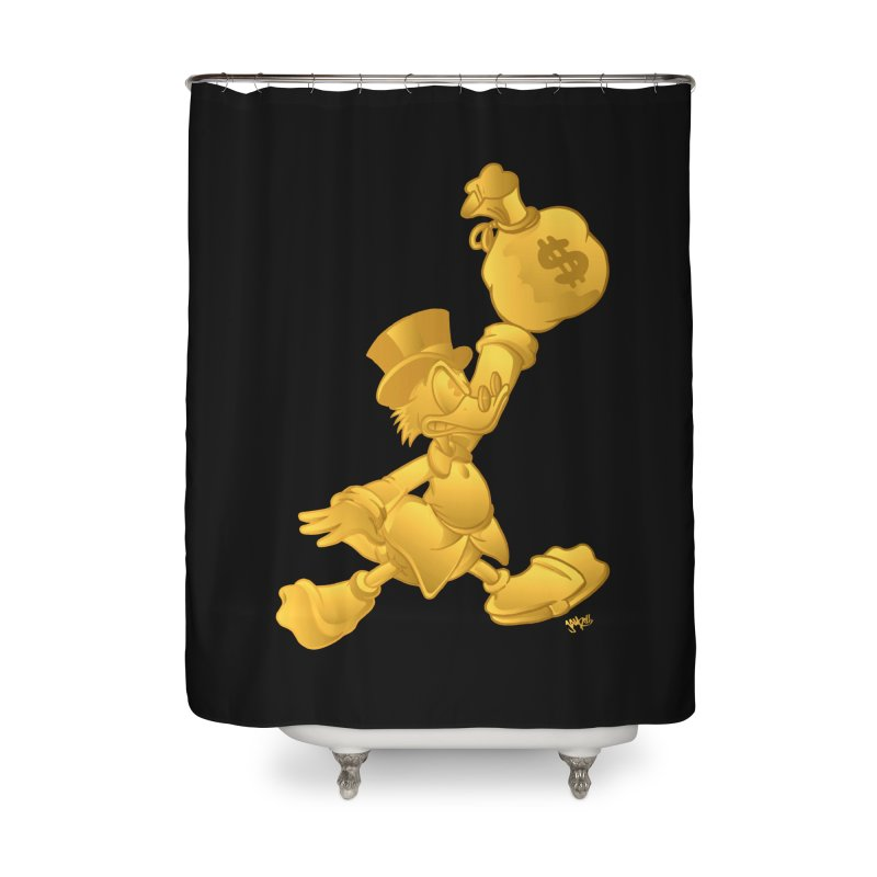 Air McDuck Home Shower Curtain by Tripledead Shop