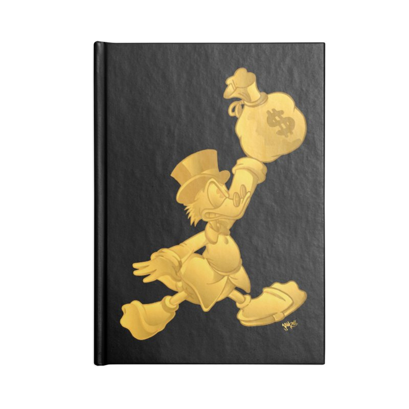 Air McDuck Accessories Blank Journal Notebook by Tripledead Shop