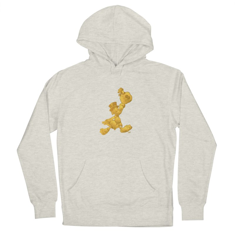 Air McDuck Men's French Terry Pullover Hoody by Tripledead Shop