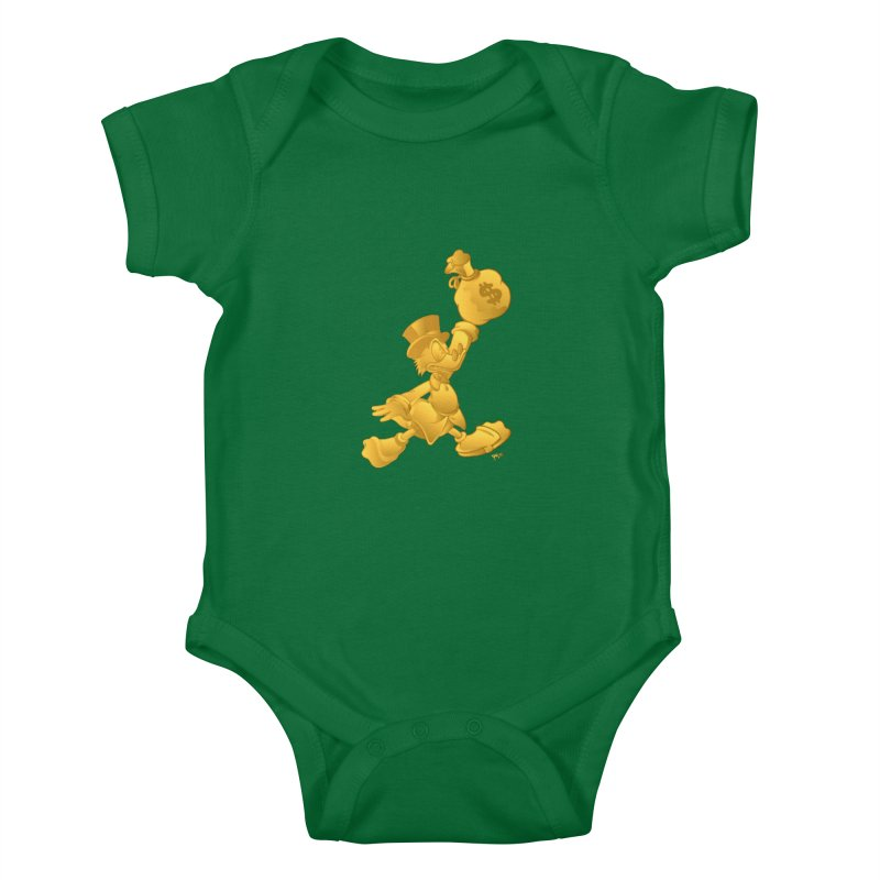 Air McDuck Kids Baby Bodysuit by Tripledead Shop
