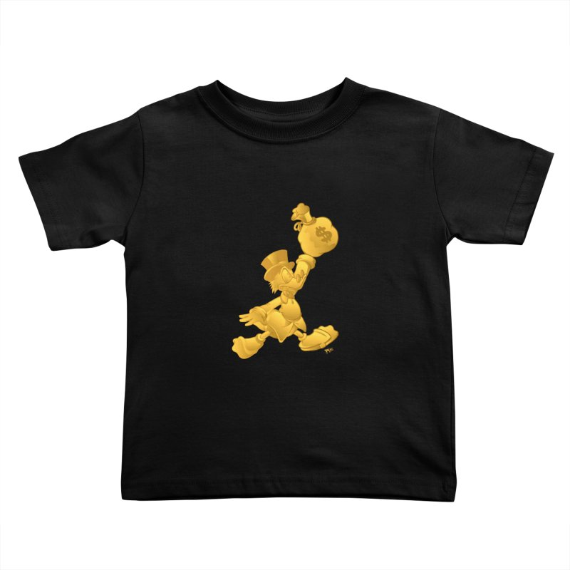 Air McDuck Kids Toddler T-Shirt by Tripledead Shop