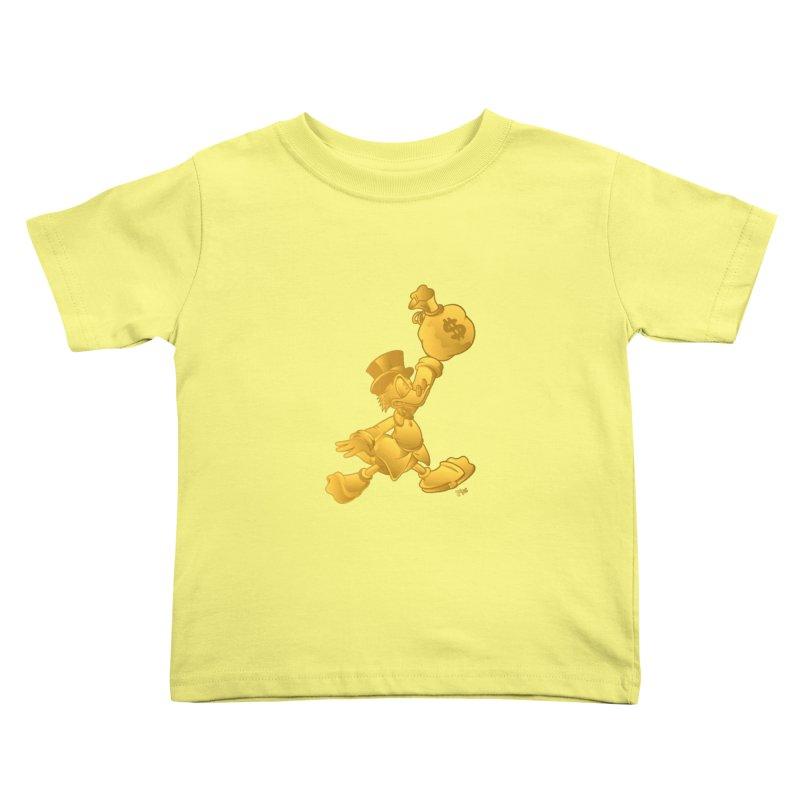 Air McDuck Kids Toddler T-Shirt by Tripledead Shop