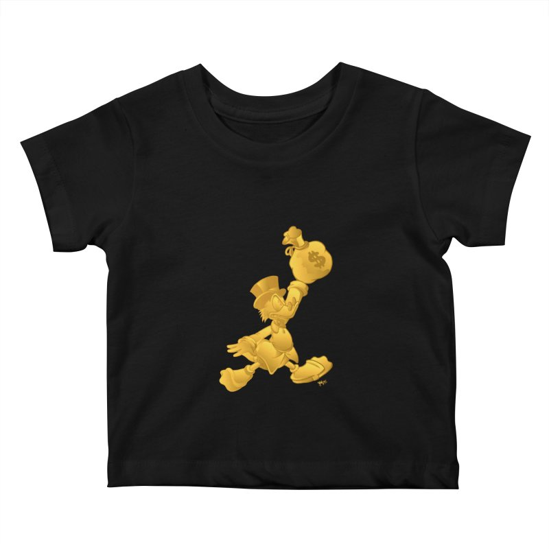 Air McDuck Kids Baby T-Shirt by Tripledead Shop