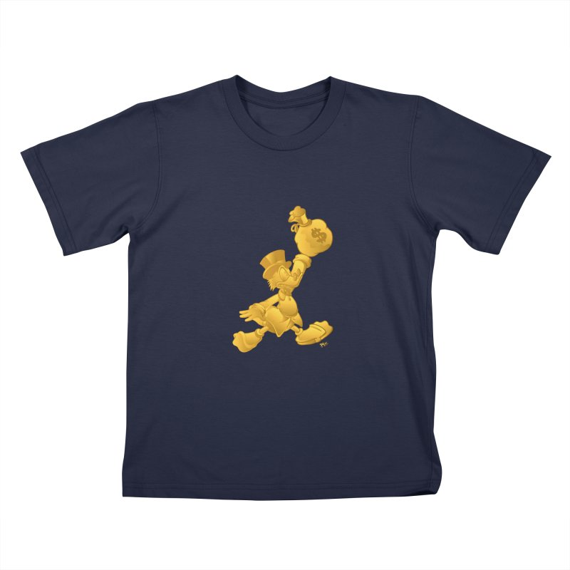 Air McDuck Kids T-Shirt by Tripledead Shop