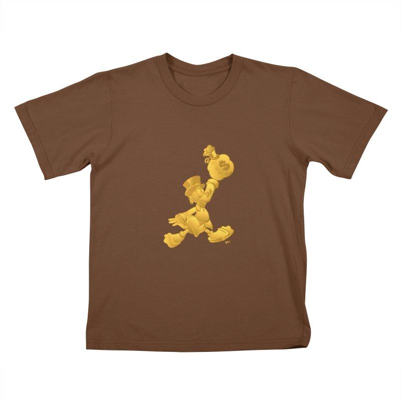 Air McDuck Kids T-Shirt by Tripledead Shop
