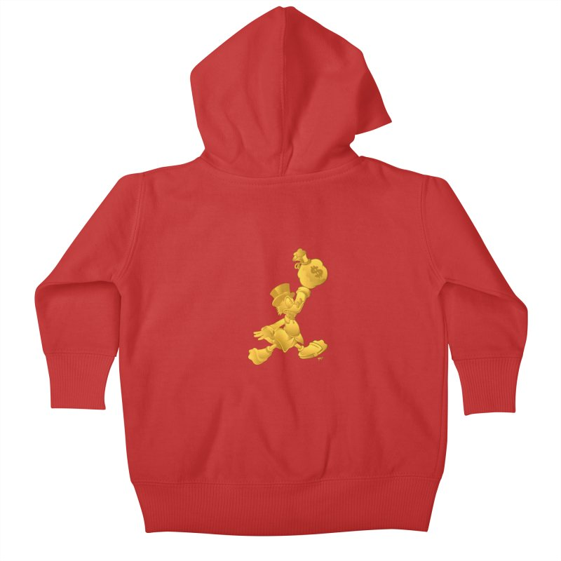 Air McDuck Kids Baby Zip-Up Hoody by Tripledead Shop