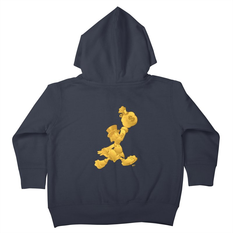 Air McDuck Kids Toddler Zip-Up Hoody by Tripledead Shop