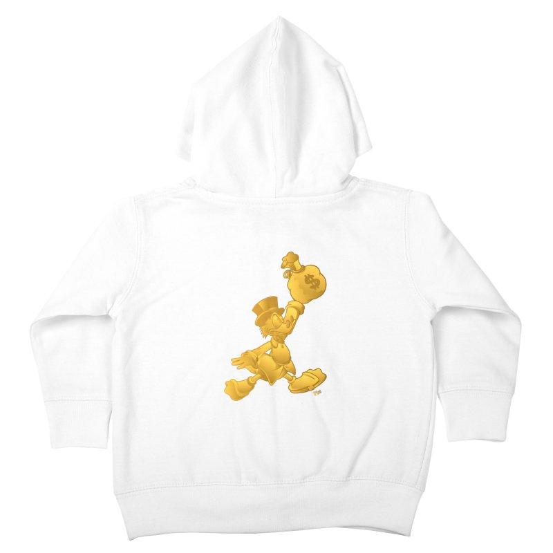 Air McDuck Kids Toddler Zip-Up Hoody by Tripledead Shop