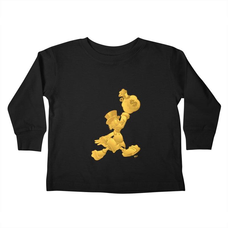 Air McDuck Kids Toddler Longsleeve T-Shirt by Tripledead Shop