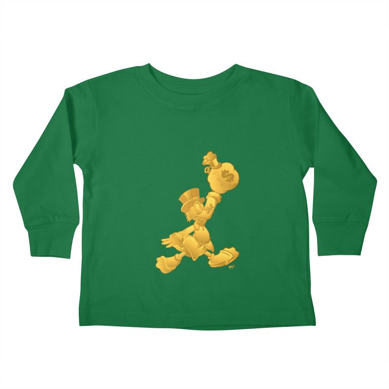 Air McDuck Kids Toddler Longsleeve T-Shirt by Tripledead Shop