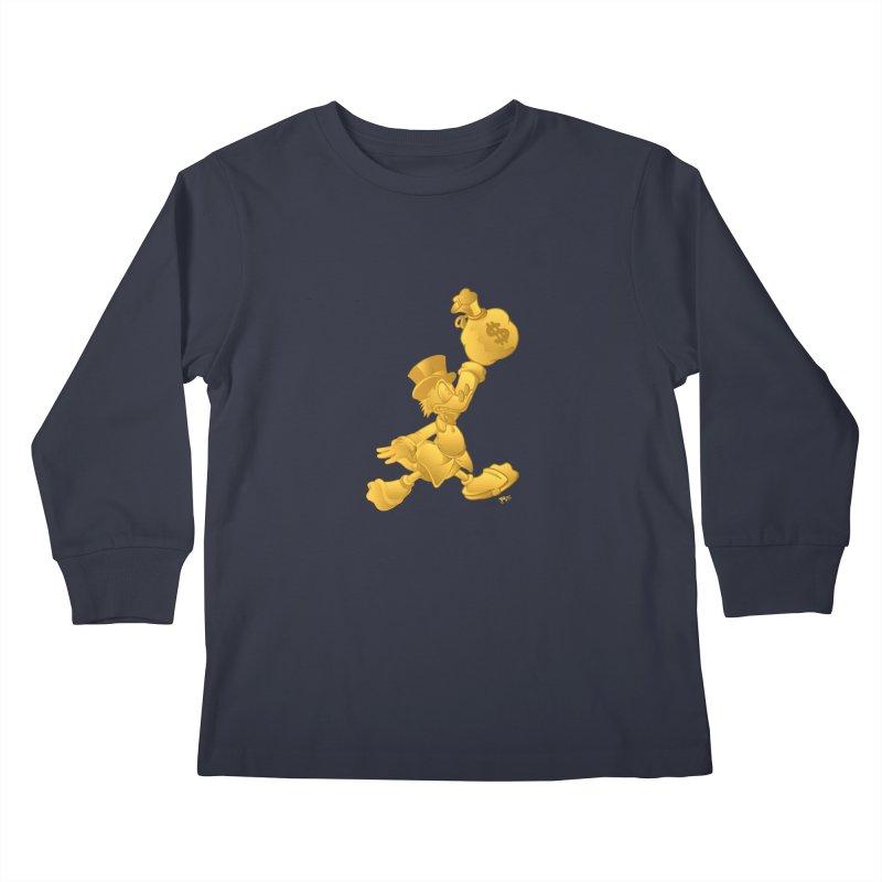 Air McDuck Kids Longsleeve T-Shirt by Tripledead Shop