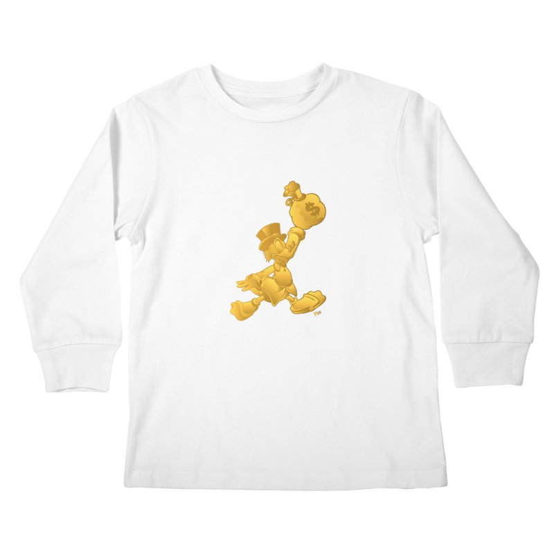 Air McDuck Kids Longsleeve T-Shirt by Tripledead Shop