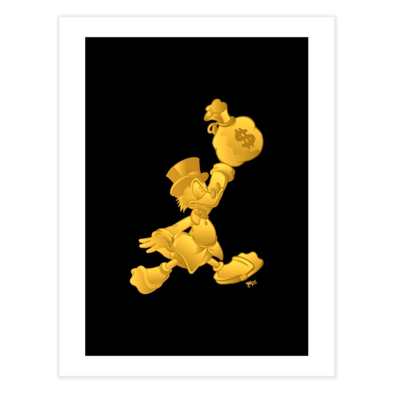 Air McDuck Home Fine Art Print by Tripledead Shop