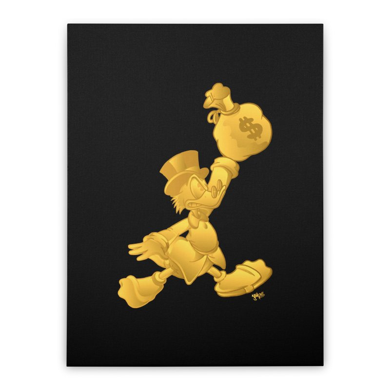 Air McDuck Home Stretched Canvas by Tripledead Shop