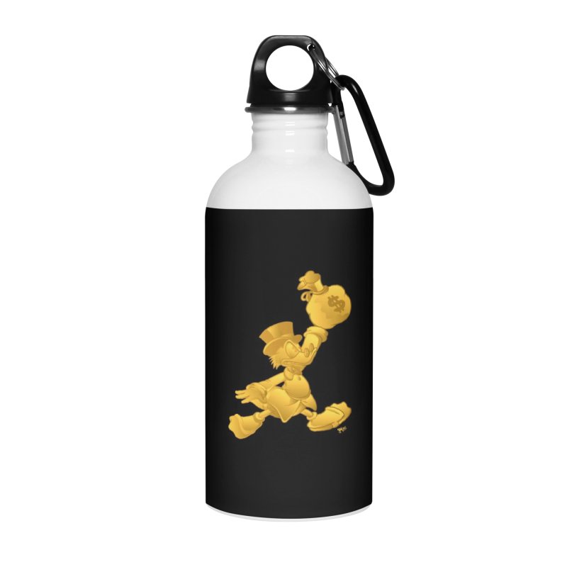 Air McDuck Accessories Water Bottle by Tripledead Shop