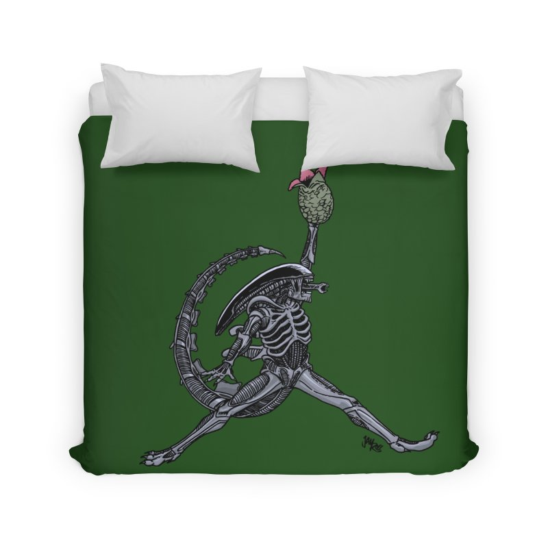 Air-lien Home Duvet by Tripledead Shop