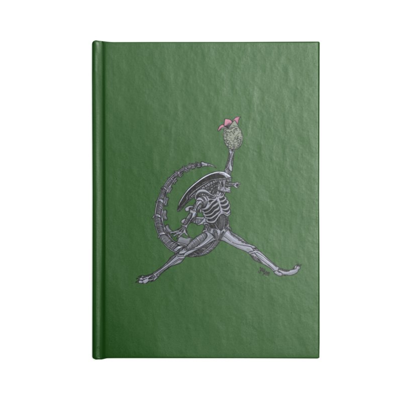 Air-lien Accessories Lined Journal Notebook by Tripledead Shop