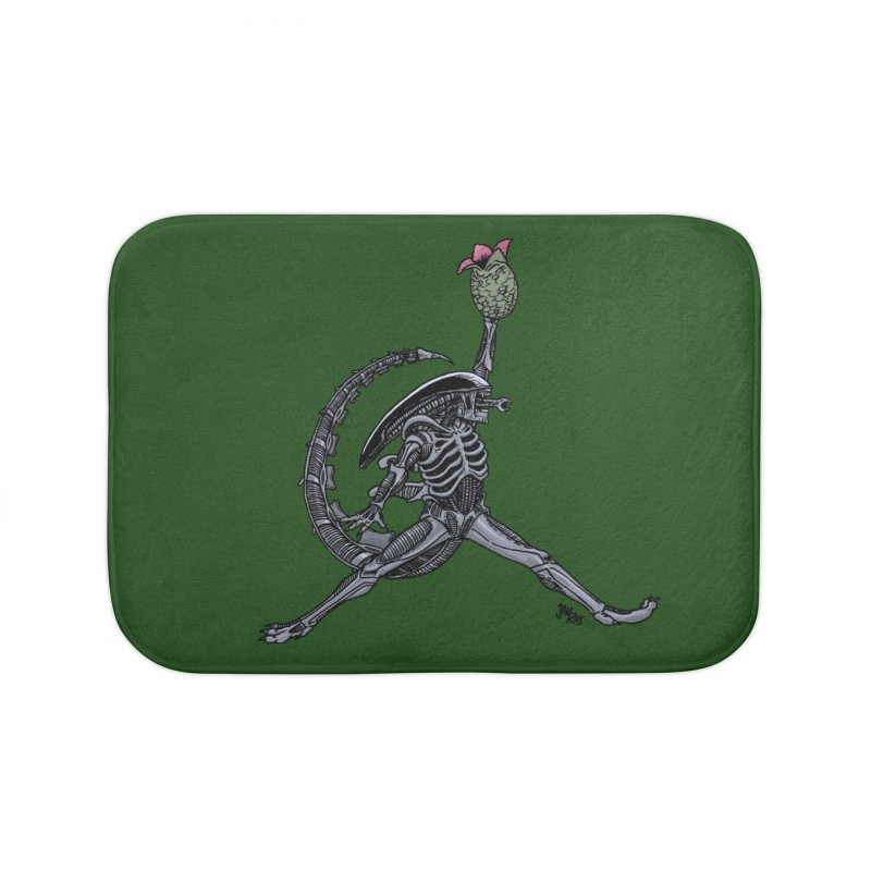 Air-lien Home Bath Mat by Tripledead Shop