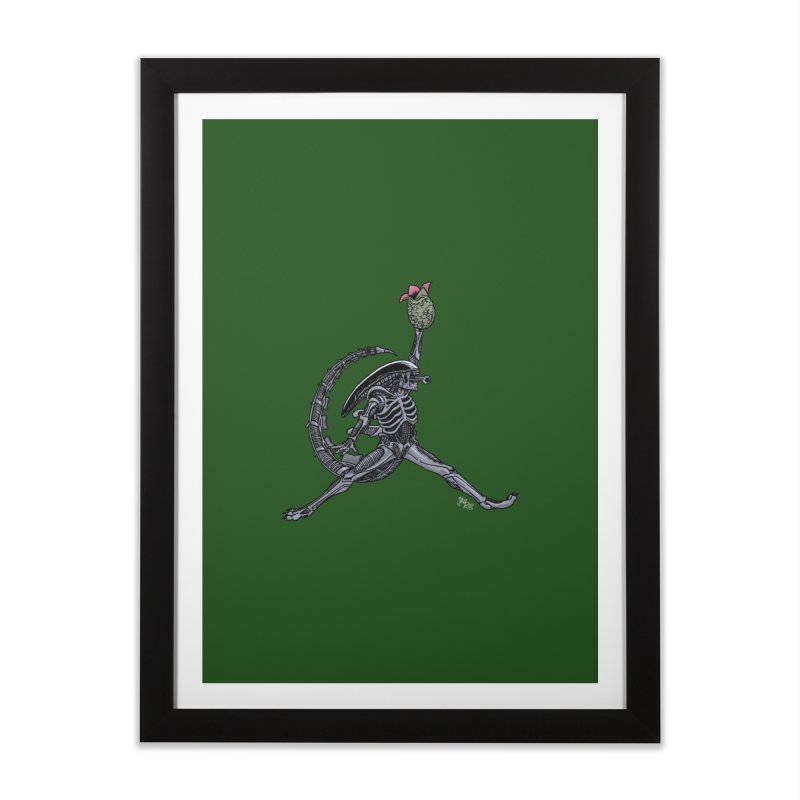 Air-lien Home Framed Fine Art Print by Tripledead Shop