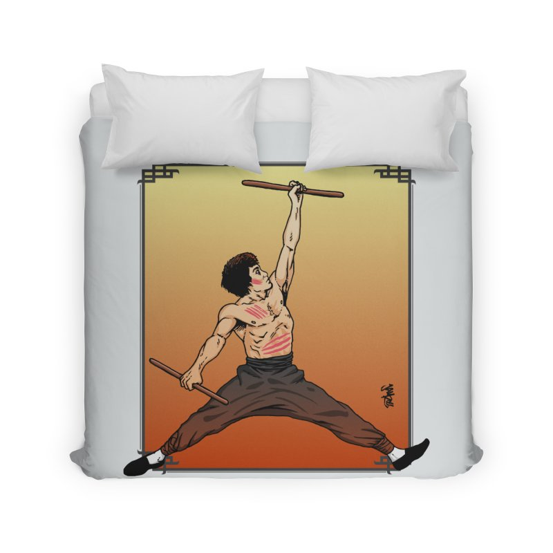 Air Bruce Home Duvet by Tripledead Shop