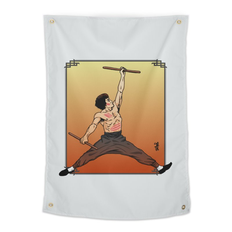 Air Bruce Home Tapestry by Tripledead Shop