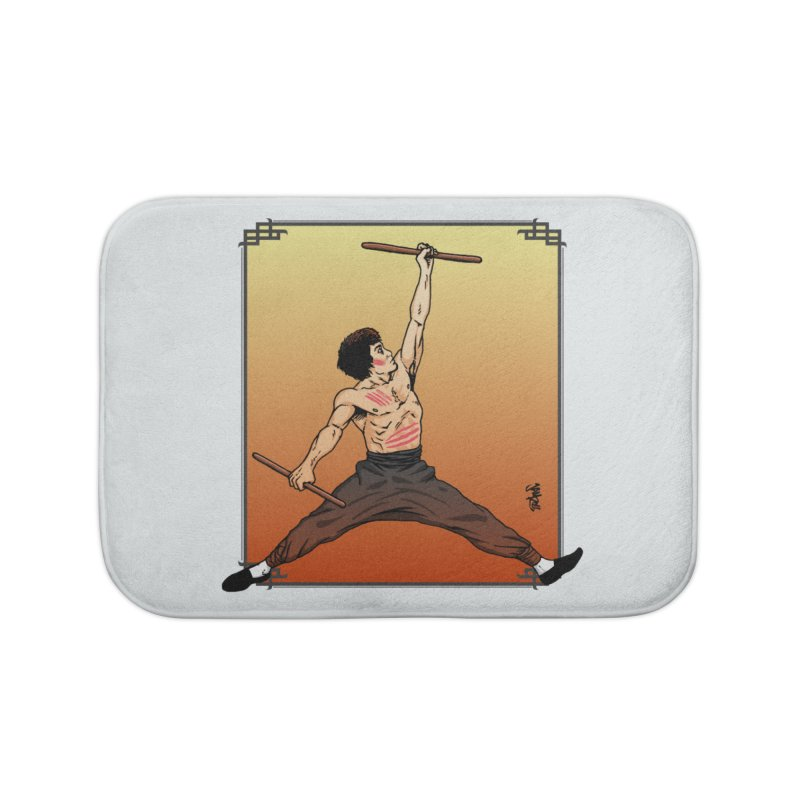 Air Bruce Home Bath Mat by Tripledead Shop