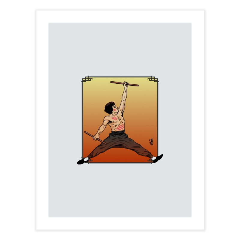 Air Bruce Home Fine Art Print by Tripledead Shop