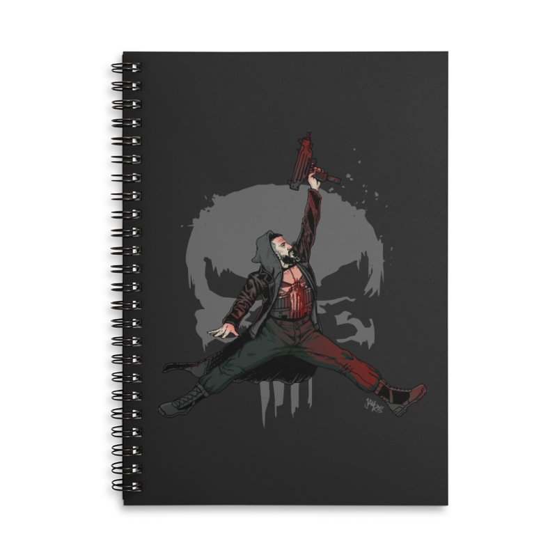 Air Castle Accessories Lined Spiral Notebook by Tripledead Shop